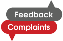 Feedback and Complaints link